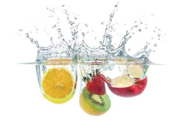 fruit splash - strawberry, apple, lemon and more